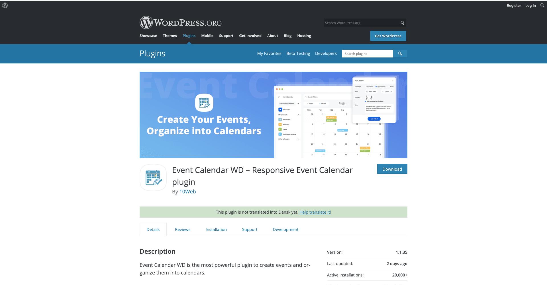 plugin-event-calendar-WP