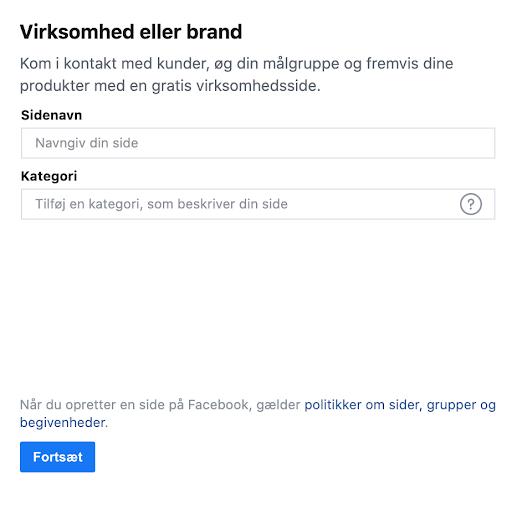 Facebook-virksomhed-eller-brand-udfyldning-af-informationer