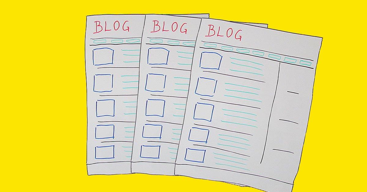 Blogindlæg layout